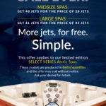 the simplest hot tub sale ever
